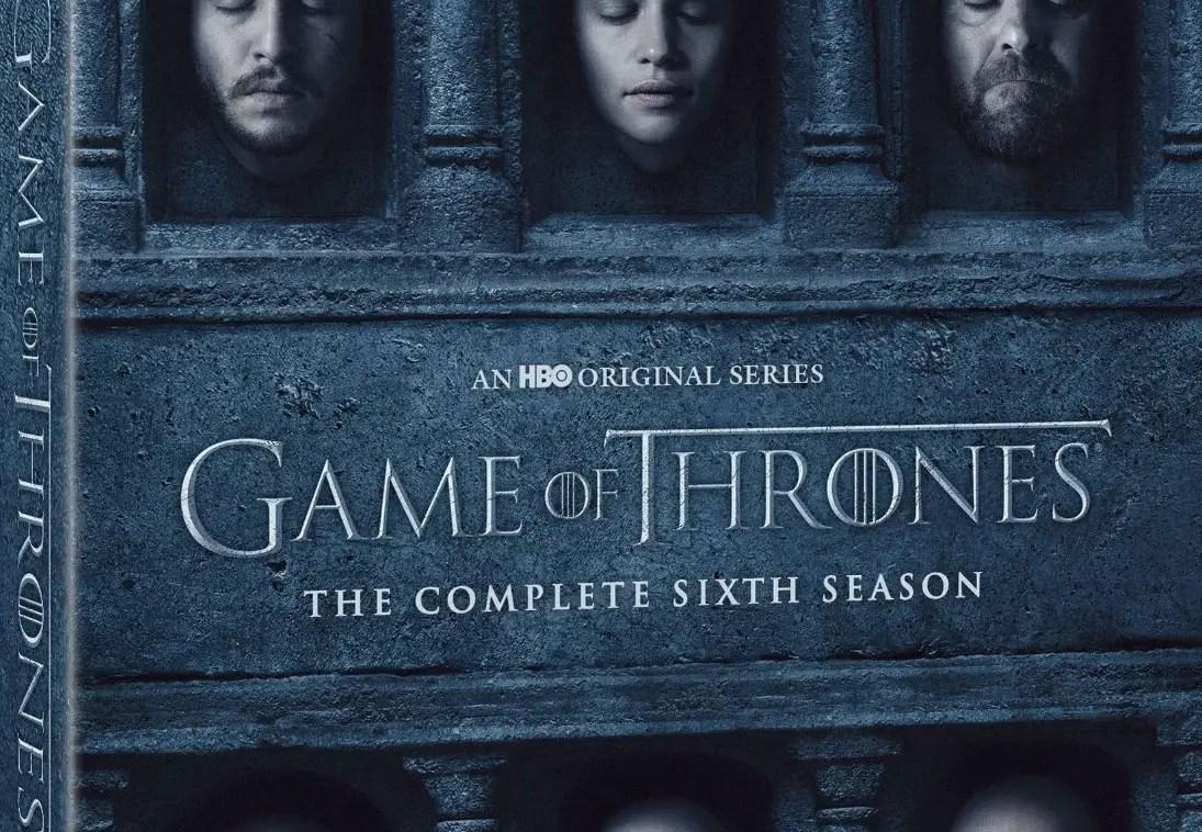 Game of Thrones Season 6 Bluray Release Date  Bonus