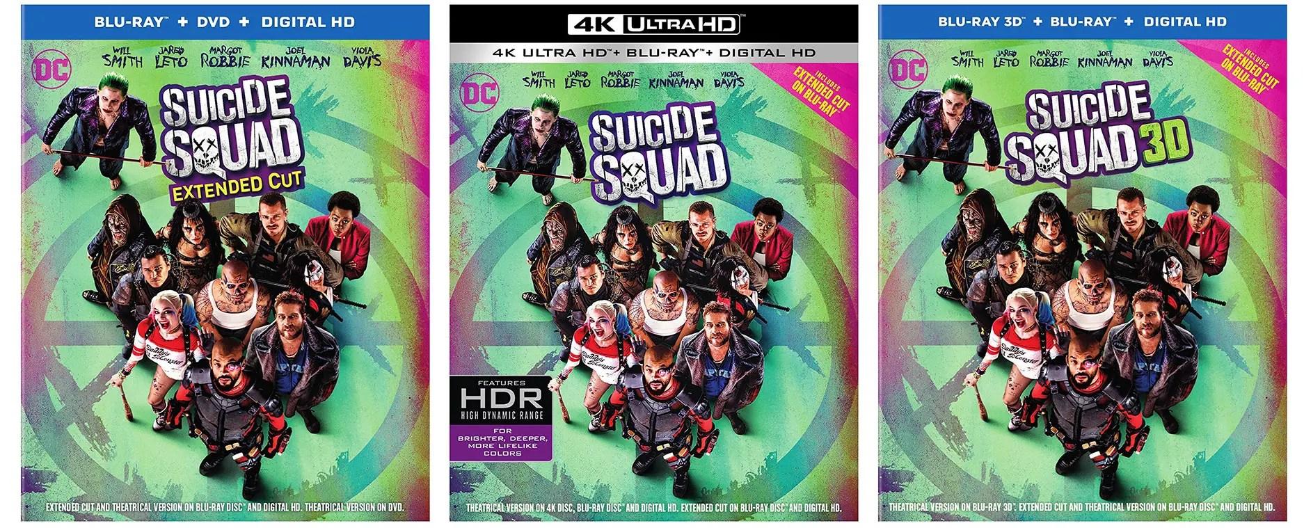 Suicide Squad Blu Ray Release Date Pricing Amp Bonus