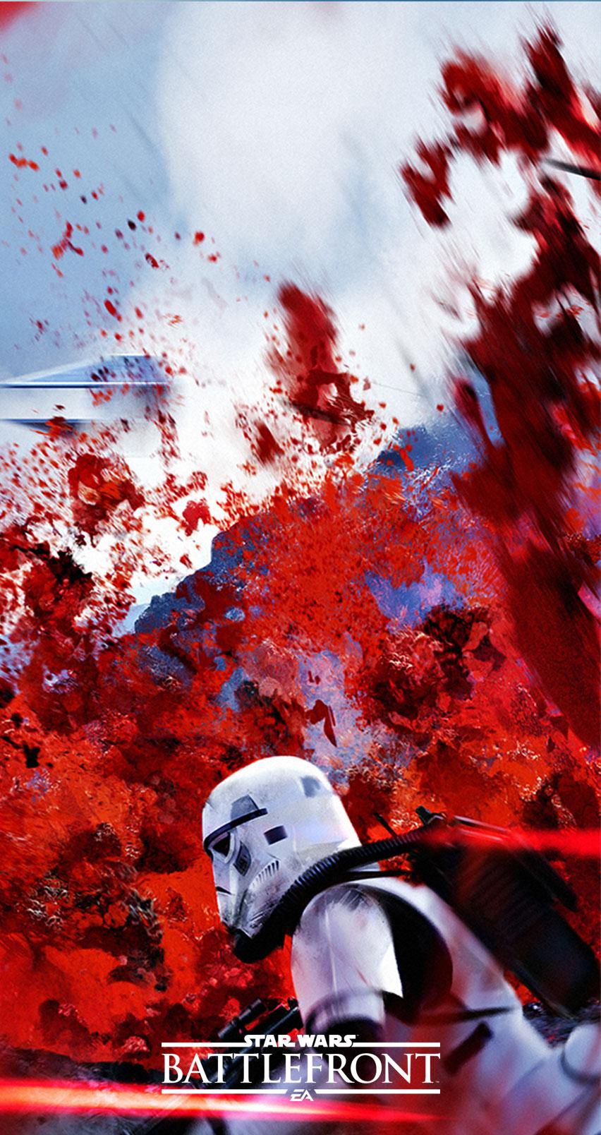 Impresionantes fondos para tu Smartphone de Star Wars Battlefront  HD Tecnologa