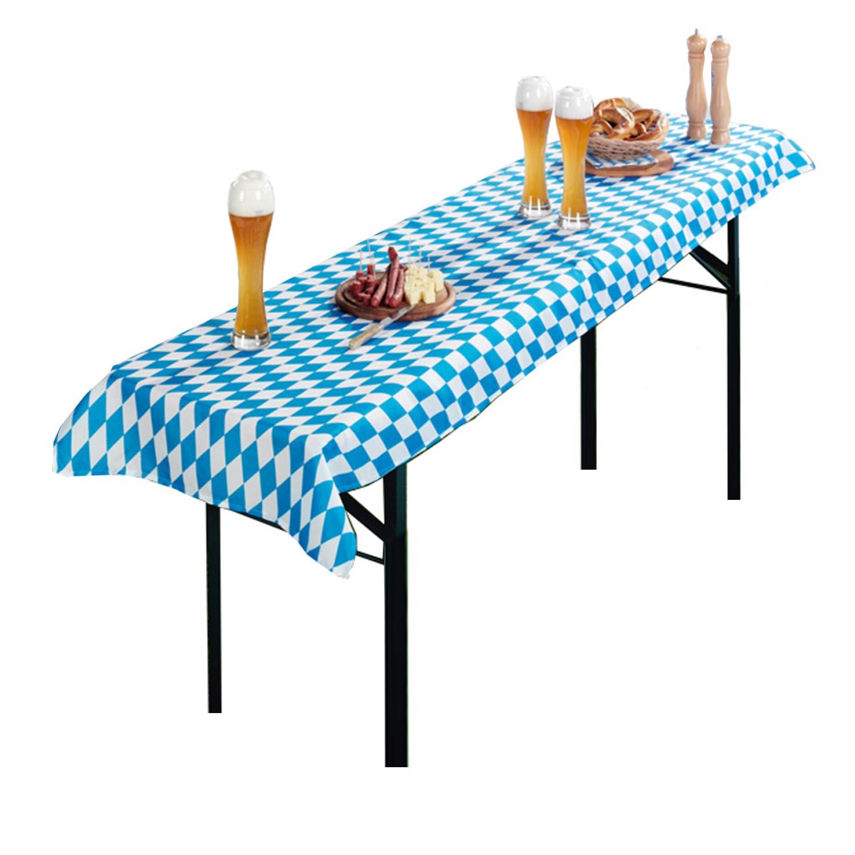 TISCHDECKE für Bierzeltgarnitur Biertisch Tischtuch
