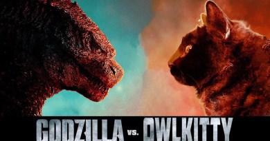 Godzilla vs… Un adorable gatito!!!