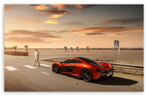 2014 Mclaren P1 Orange 4k Hd Desktop Wallpaper For 4k Ultra Hd Tv