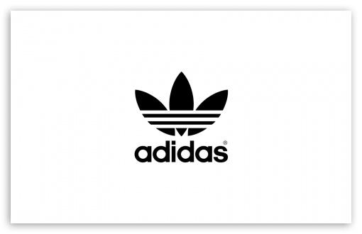 Adidas, White Background Ultra HD Desktop Background