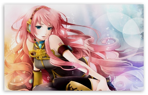 Anime Girl Listening To Music Ultra Hd Desktop Background Wallpaper For Tablet Smartphone