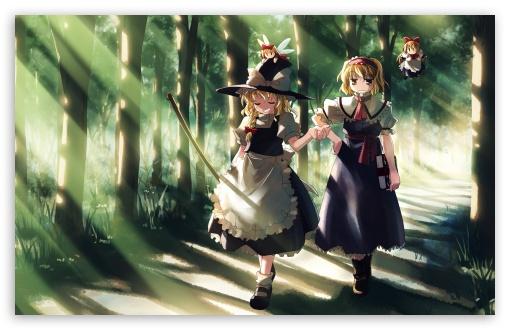 Girl 3 Monitor Wallpaper Anime Wizard Girl 4k Hd Desktop Wallpaper For 4k Ultra Hd