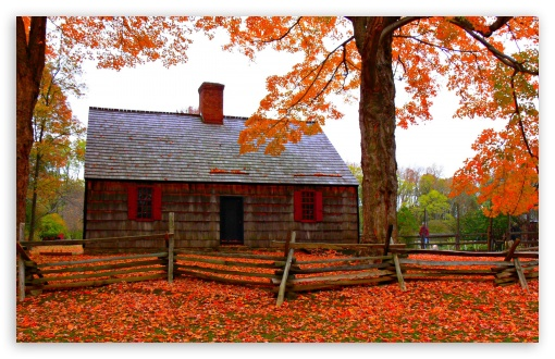 Fall Wallpaper 1440p Autumn Cottage 4k Hd Desktop Wallpaper For 4k Ultra Hd Tv