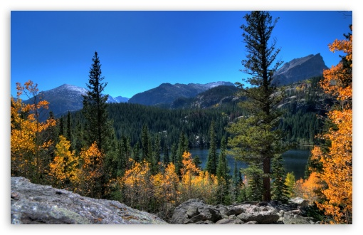 Fall High Definition Wallpapers Bear Lake Rocky Mountain National Park Colorado 4k Hd