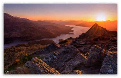Fall Wallpaper For Ipad Mini Beautiful Sunset Scotland 4k Hd Desktop Wallpaper For 4k