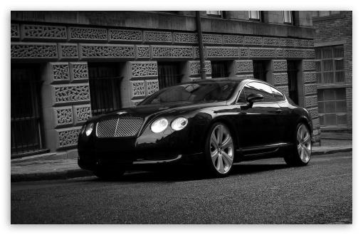 1080p Wallpapers Car Bentley Continental Gt Black 4k Hd Desktop Wallpaper For