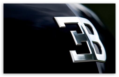 bugatti logo 4k hd