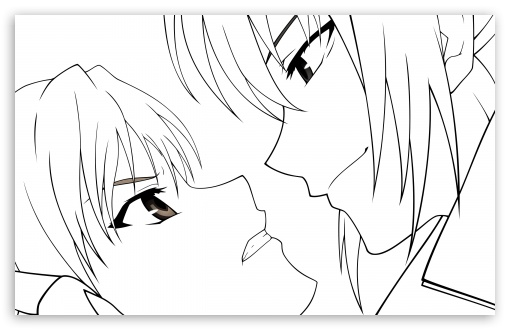 Canaan Anime Drawing 4K HD Desktop Wallpaper for 4K Ultra