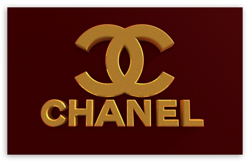 Chanel Logo Bordeaux Red 4k Hd Desktop Wallpaper For 4k