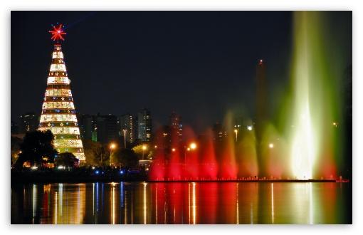3d Christmas Wallpaper For Ipad Christmas City 4k Hd Desktop Wallpaper For 4k Ultra Hd Tv