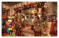 Christmas House Decorations Inside 4K HD Desktop Wallpaper ...