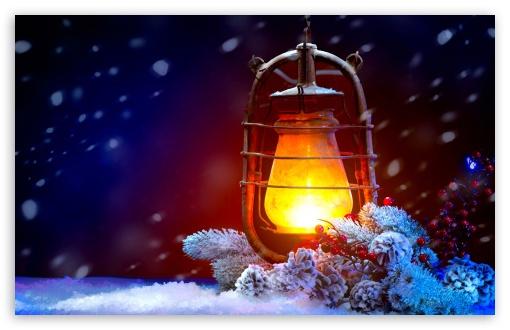 christmas lights 4k hd
