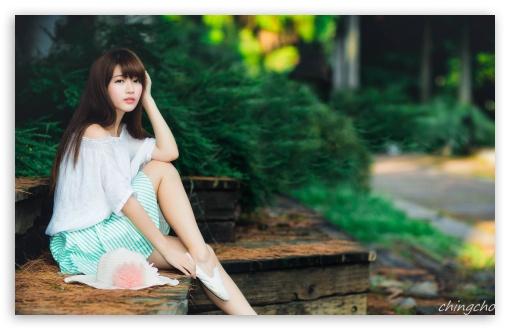 Chinese Beautiful Girl Hd Wallpaper Cute Asian Girl Photography Summer 4k Hd Desktop Wallpaper
