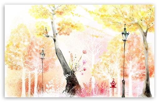 Fall In Paris Wallpaper Drawings Of Autumn 4k Hd Desktop Wallpaper For 4k Ultra Hd