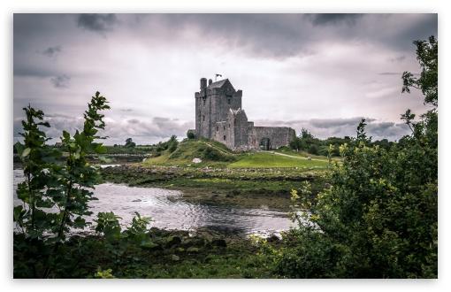 Ireland Iphone Wallpaper Dunguaire Castle Kinvara County Galway Ireland 4k Hd