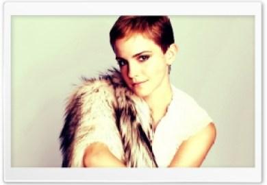 Emma Watson Short Hair Hd Wide Wallpaper For Widescreen