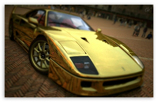 Ultra Hd Car Wallpapers For Mobile Ferrari F40 Gold 4k Hd Desktop Wallpaper For 4k Ultra Hd