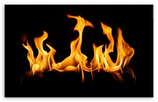 flame 4k hd desktop
