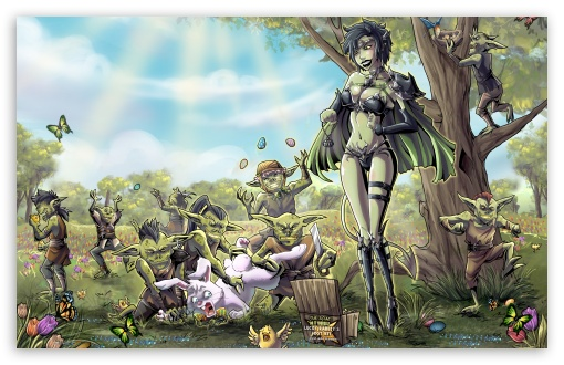 Hd Fantasy Girl Wallpapers 1080p Goblins 4k Hd Desktop Wallpaper For 4k Ultra Hd Tv