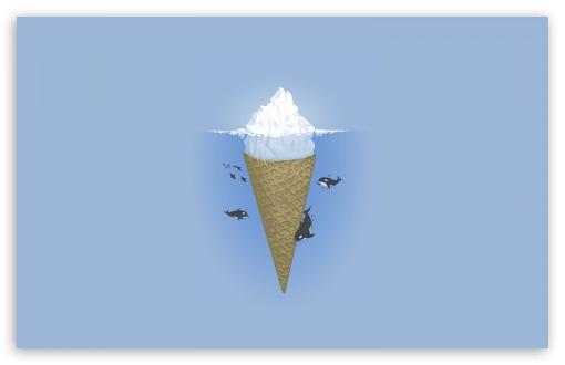 Funny Wallpapers For Iphone 3gs Iceberg Ice Cream 4k Hd Desktop Wallpaper For 4k Ultra Hd