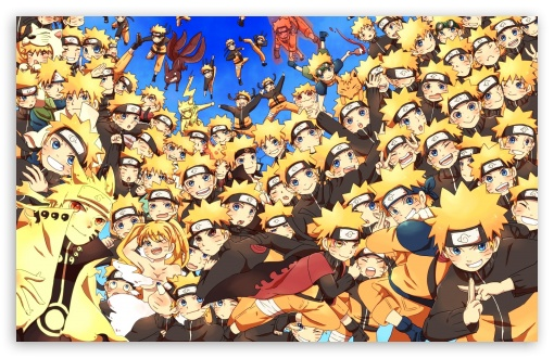 Naruto Shippuden Wallpaper Hd 1080p Kage Bunshin Naruto Ultra Hd Desktop Background Wallpaper