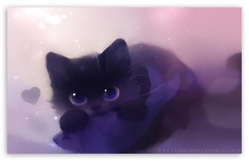 Anime Cat Girl Iphone Wallpaper Kitty Loves Fish 4k Hd Desktop Wallpaper For 4k Ultra Hd