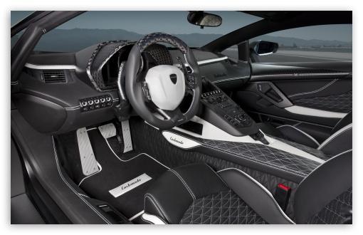 Lamborghini Aventador Cars Wallpapers Lamborghini Aventador Lp700 4 Car Interior 4k Hd Desktop
