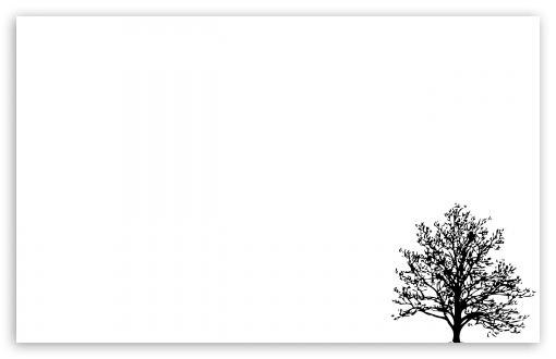 Minimalist Tree 4K HD Desktop Wallpaper for 4K Ultra HD TV