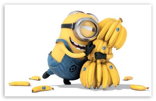 minions banana 2015 4k