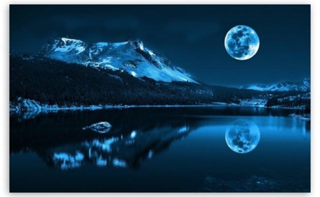 Moonlight Night 4k Hd Desktop Wallpaper For 4k Ultra Hd Tv