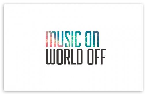 Music On, World Off 4K HD Desktop Wallpaper for 4K Ultra