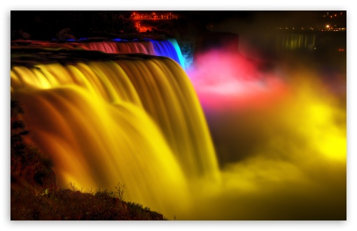 Niagara Water Falls Desktop Wallpaper Niagara Falls Night View 4k Hd Desktop Wallpaper For 4k