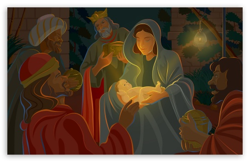 night of jesus christ birth 4k hd desktop wallpaper for 4k