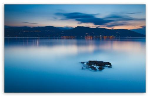 Plain Blue Water 4K HD Desktop Wallpaper for 4K Ultra HD