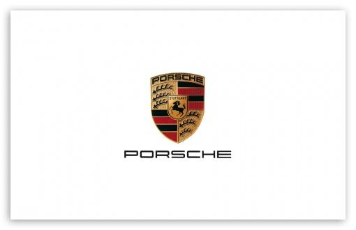 Porsche Logo 4K HD Desktop Wallpaper for 4K Ultra HD TV