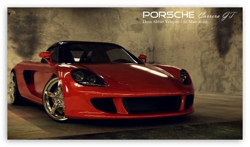 2160p Car Wallpapers Porsche Carrera Gt 3d Max 4k Hd Desktop Wallpaper For 4k
