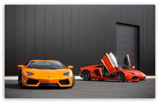 Lamborghini Aventador Hd Wallpapers 1080p Red And Orange Lamborghini Aventador 4k Hd Desktop