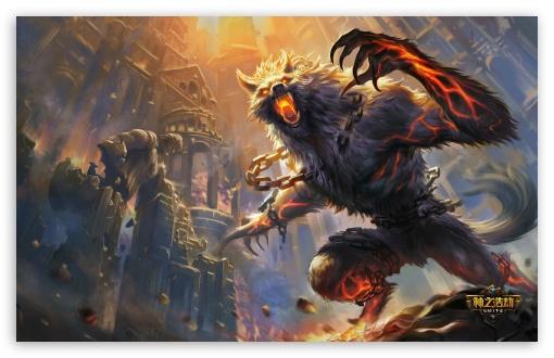 Hd Game Wallpaper Widescreen Smite Game Monster 4k Hd Desktop Wallpaper For 4k Ultra Hd
