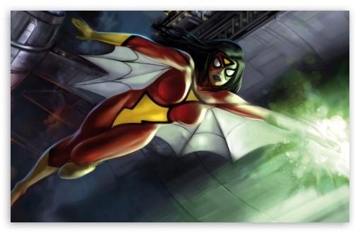 Girl Superheroes Wallpaper 1440p Spider Woman Marvel Comics 4k Hd Desktop Wallpaper For