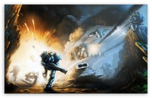 Starcraft 2 Iphone Wallpaper Starcraft 2 Battle 4k Hd Desktop Wallpaper For 4k Ultra Hd