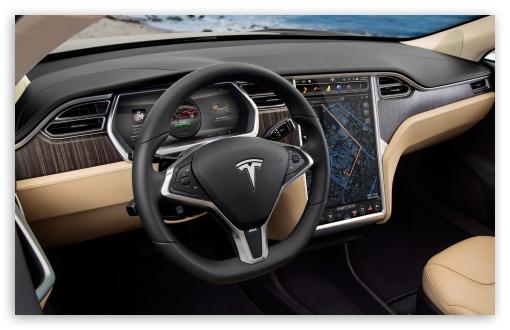 2160p Car Wallpapers Tesla Inside 4k Hd Desktop Wallpaper For 4k Ultra Hd Tv