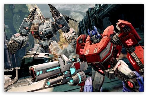 Fall Wallpaper 1440p Transformers Foc Optimus And Metroplex Ultra Hd Desktop