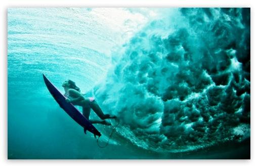 Surfer Girl Wallpaper 1440x900 Underwater 4k Hd Desktop Wallpaper For 4k Ultra Hd Tv