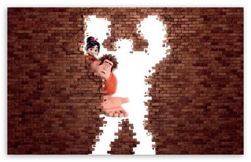 Animated Cartoon Wallpaper Wreck It Ralph Animation Movie 4k Hd Desktop Wallpaper For