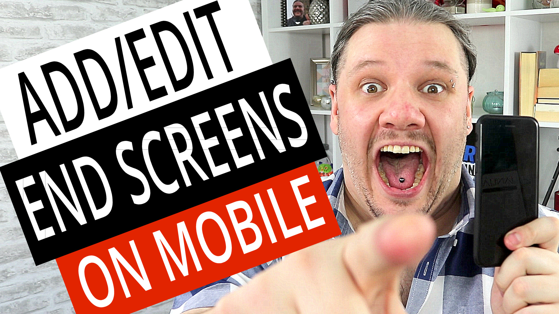 How To Add Edit End Screens to YouTube Videos on Mobile Phone (Android & iPhone), alan spicer,how to make a youtube end card,how to make youtube end screen for your videos,end screen,end card,youtube endscreen,youtube end card,youtube end screen,new end card,youtube end screens,add end cards,edit end cards,add end screens,edit end screens,edit end screens on mobile,add end screens on mobile,how to add end screens to youtube videos on mobile,how to add end screen on mobile,end screen on mobile,how to add end screen with android,endscreen