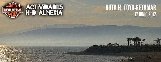 RUTA EL TOYO-RETAMAR