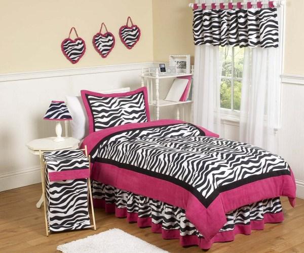 Pink And Black Zebra Bedding 29 Cool Wallpaper